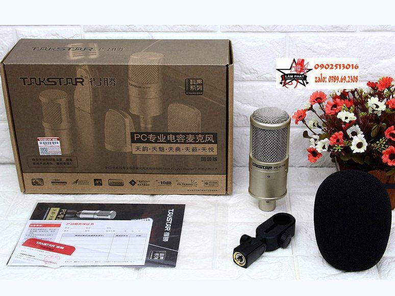 Combo Sound Card Presonus Studio 26 Và Mic PC K200