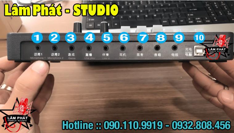 Hướng Dẫn Sử Dụng Sound Card H9 Bluetooth