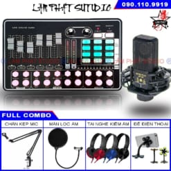 Combo Sound Card H9 - Micro LGT 240