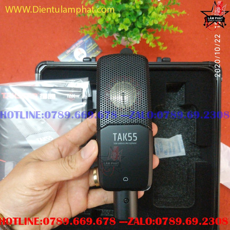Combo Sound Card Audient iD14 MKII Và Micro Tak 55