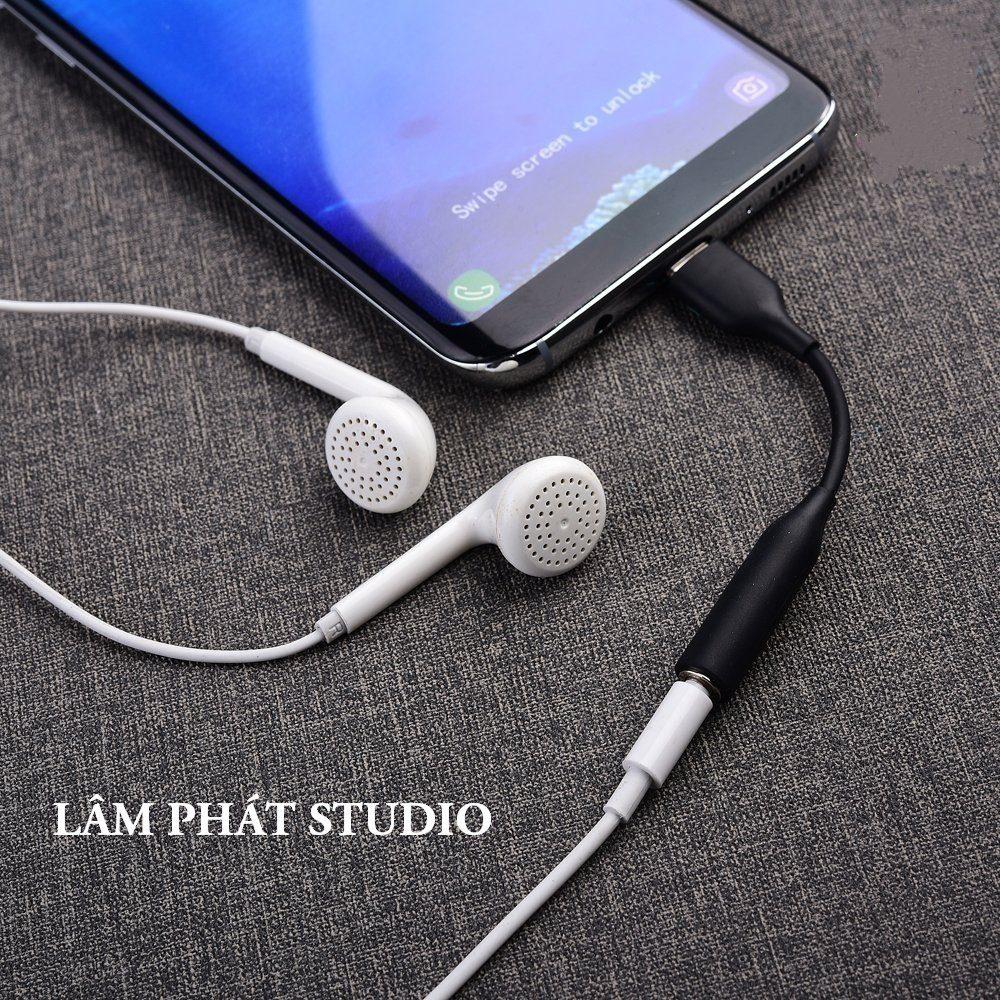 Jack Chuyển Đổi Tai Nghe Type C Sang 3.5mm Chính Hãng Samsung