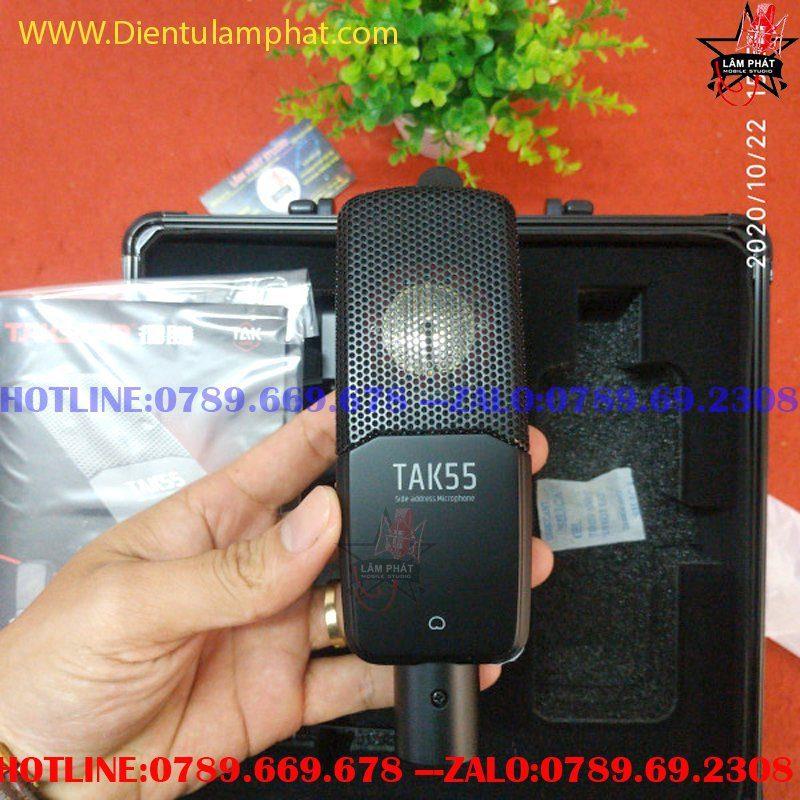 Bộ Sound Card Focusrite Solo Gen 3 Và Mic Tak 55