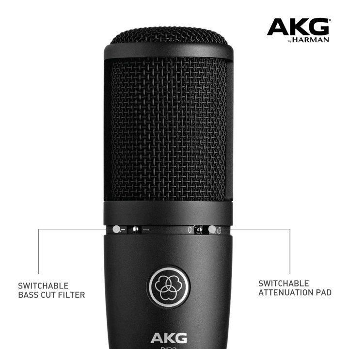 Micro Thu Âm AKG P120 Chính Hãng