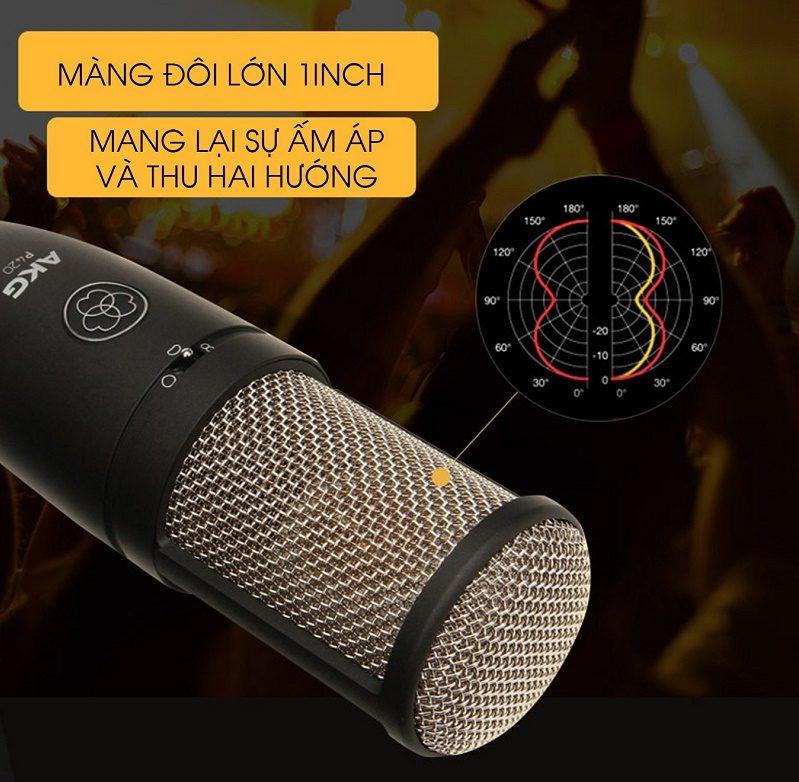 Bộ Sound Card Focusrite Solo Gen 3 Và Mic AKG P420