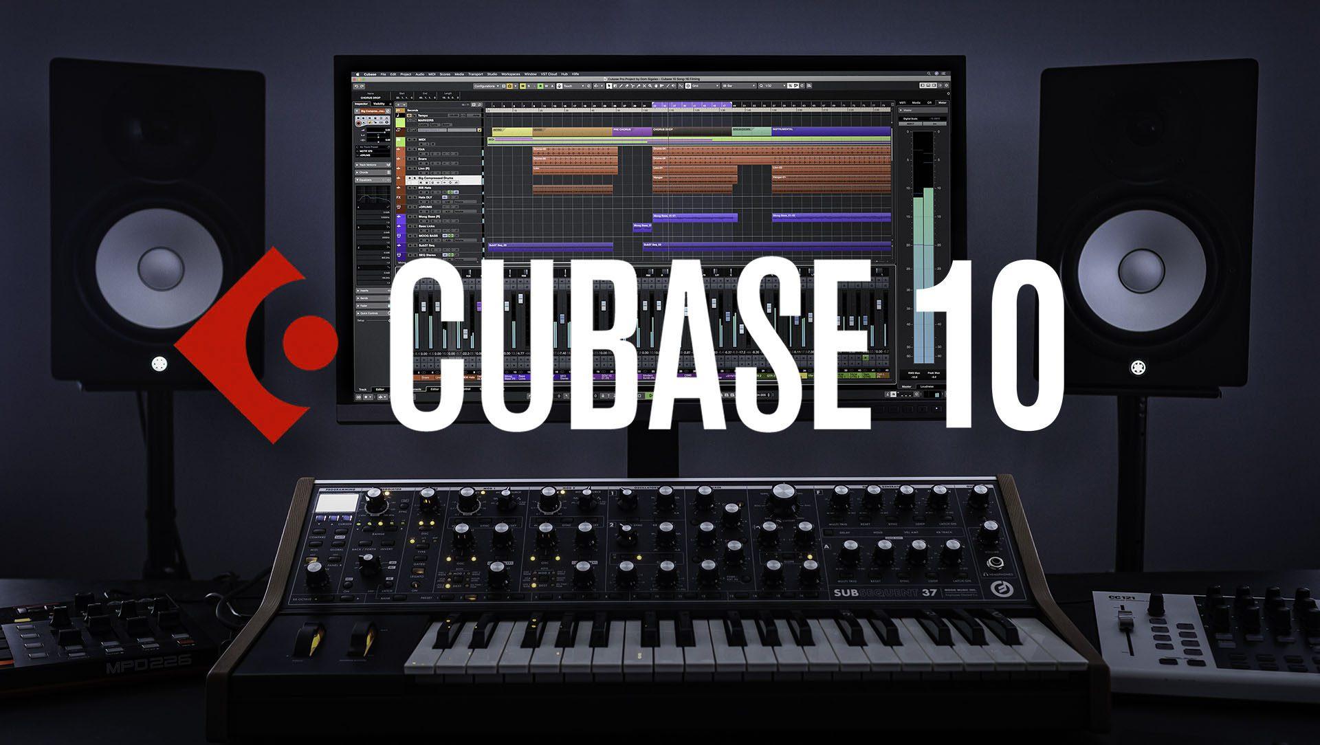 Hướng dẫn tải và cài đặt phần mềm thu âm Cubase 10 PRO