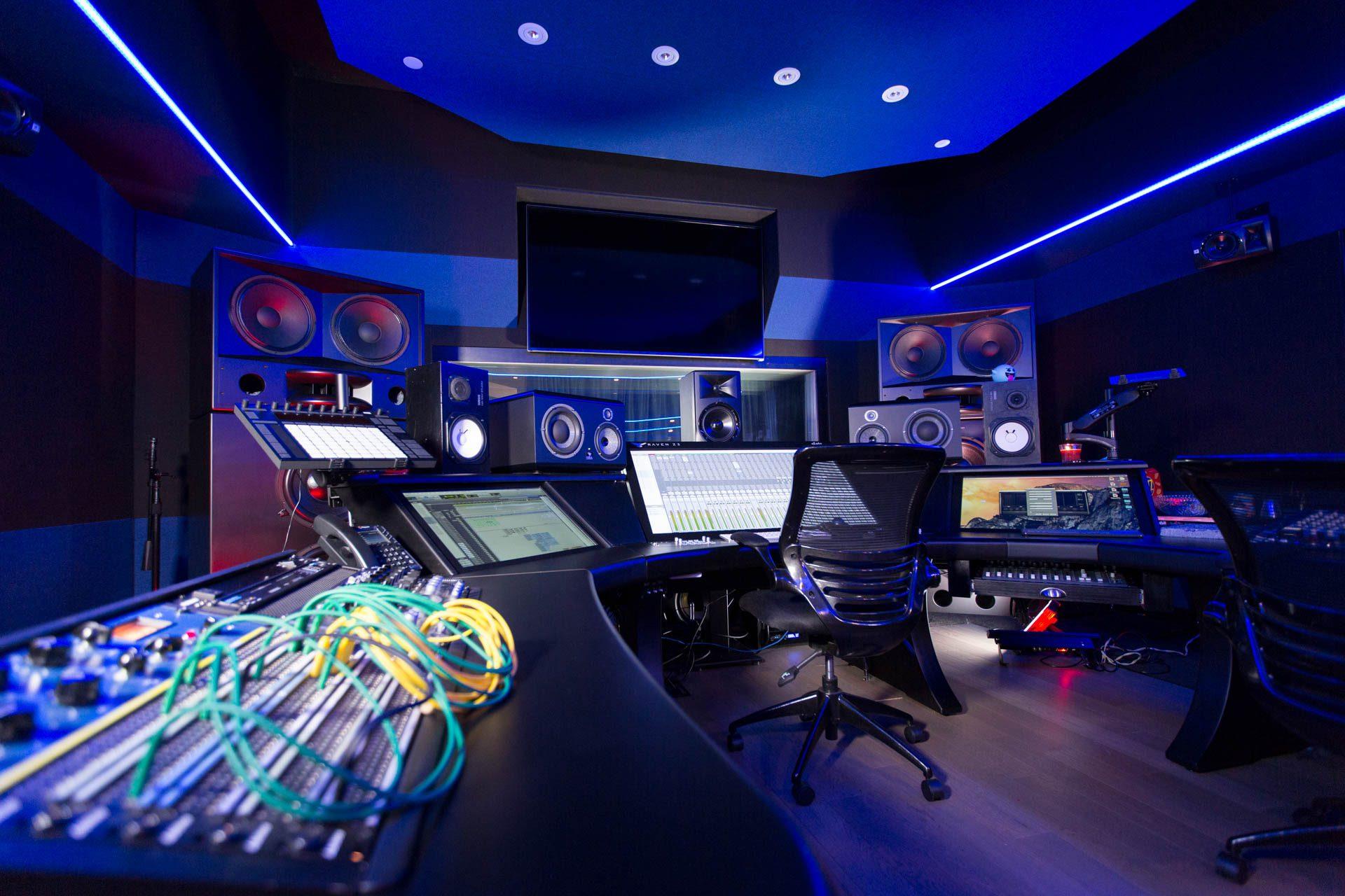 thiết kế phòng thu âm đẹp