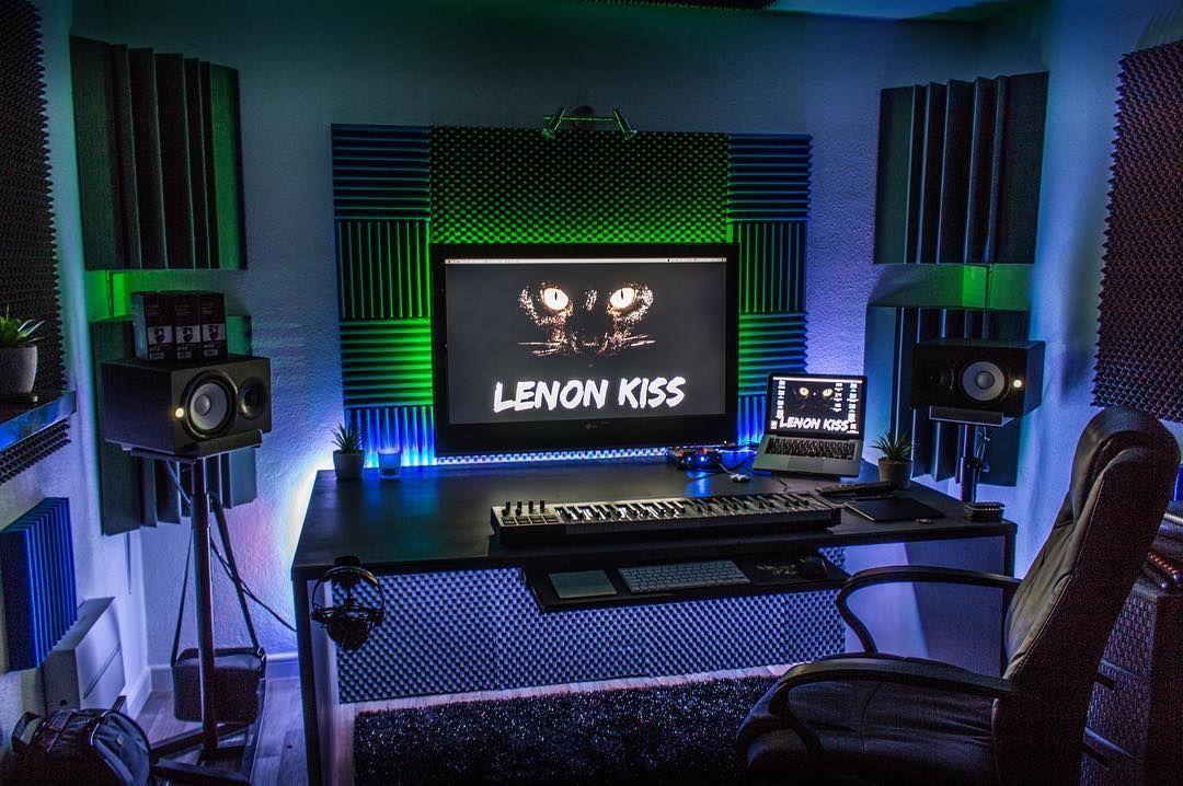 thiết kế phòng thu âm đẹp, mẫu phòng thu âm đẹp