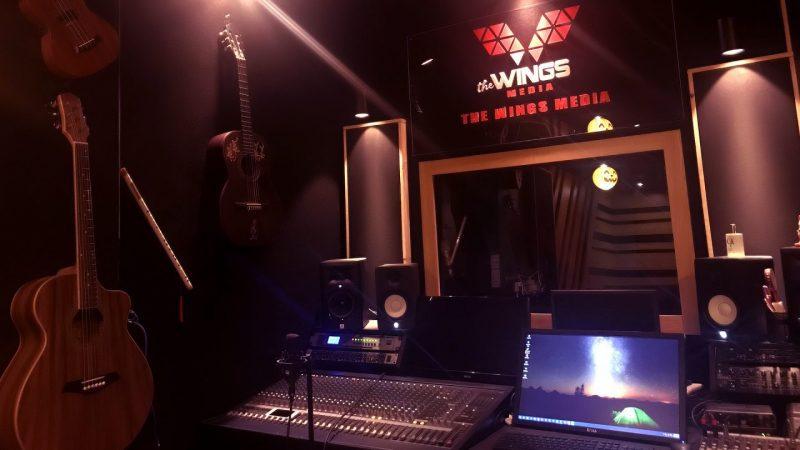 phòng thu âm the wings media