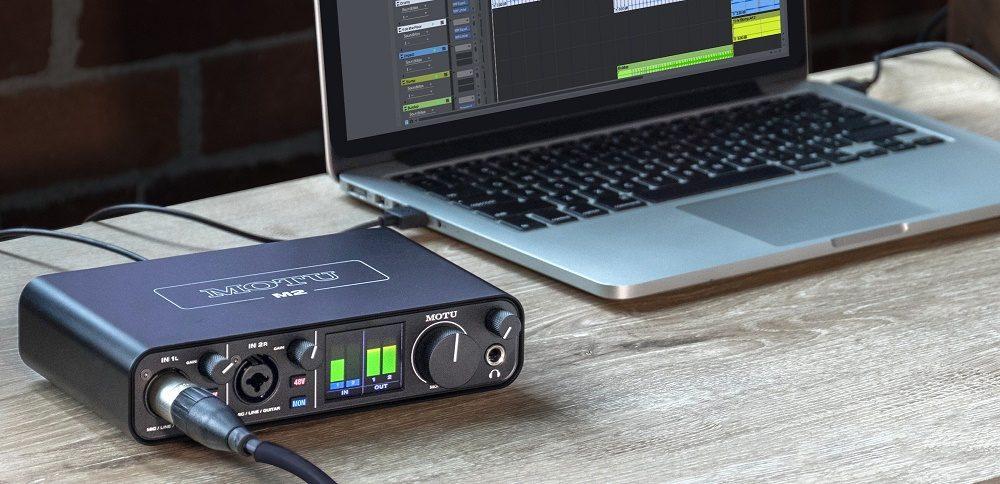 Combo Sound Card MOTU M2 Và Micro AKG P420 Chuyên Nghiệp
